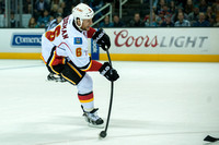 NHL: Calgary Flames at San Jose Sharks
