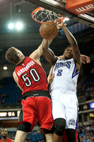 NBA: Preseason-Toronto Raptors at Sacramento Kings