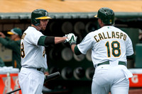 MLB: Cleveland Indians at Oakland Athletics-Game One