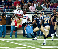 NFL: San Francisco 49ers at St. Louis Rams