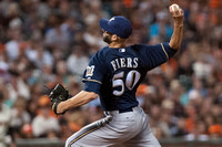 MLB: Milwaukee Brewers at San Francisco Giants